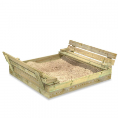 Sandkasse Flip 120x125 cm