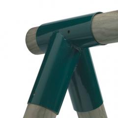 Mellemstykke til gynge rund 100/100 mm
