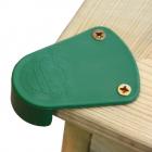 Hjørnebeskyttelse til sandkasse, sæt med 4 stk.